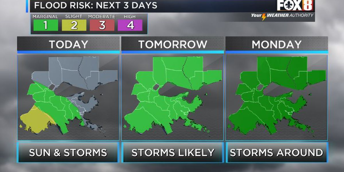 Shelby: Some Storms Today, More Sunday
