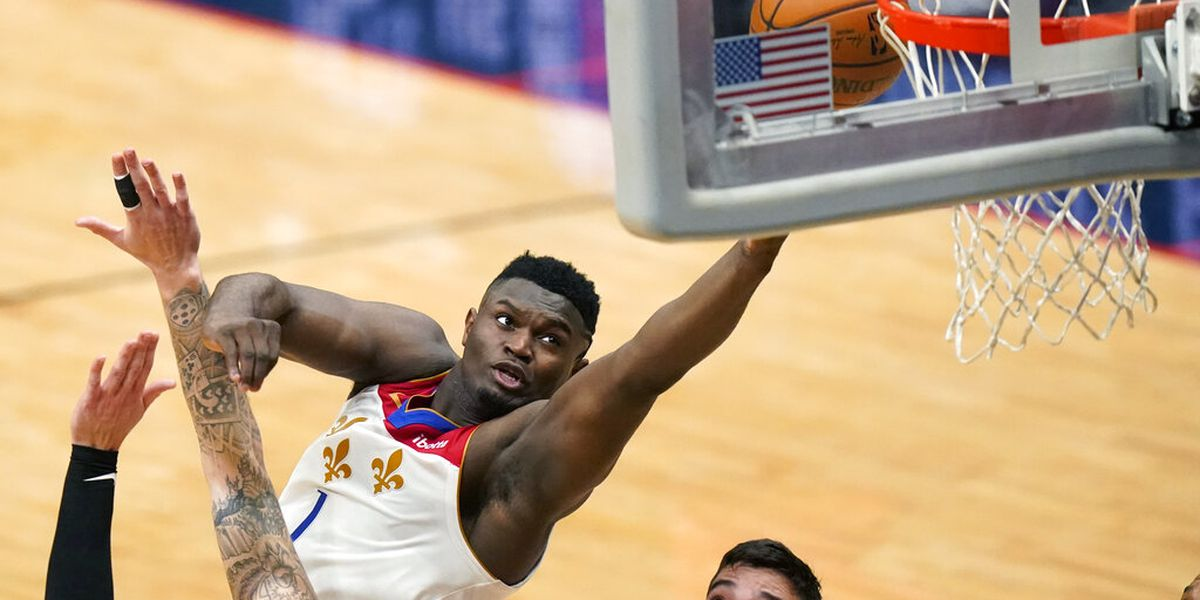 Zion selected as All-Star reserve