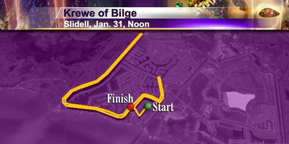 Sat 1/31 Slidell 12pm Krewe of Bilge