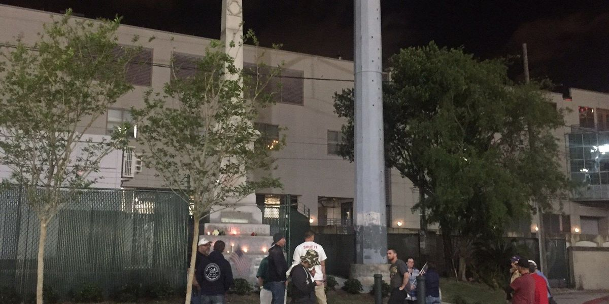Fire official says NOFD should not be involved in removal of monuments