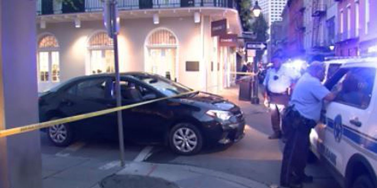 Woman shot in French Quarter Sunday morning