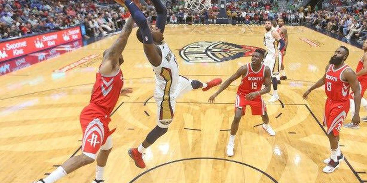 Pelicans unable to complete comeback, fall to Rockets at home