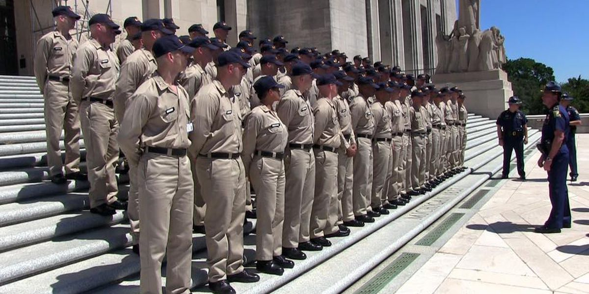 LA State Police gets set for cadet class graduation