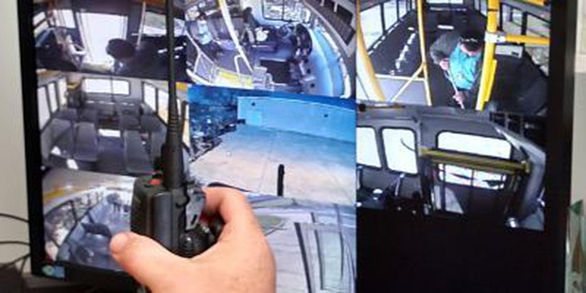 Security cameras installed on St. Bernard public buses