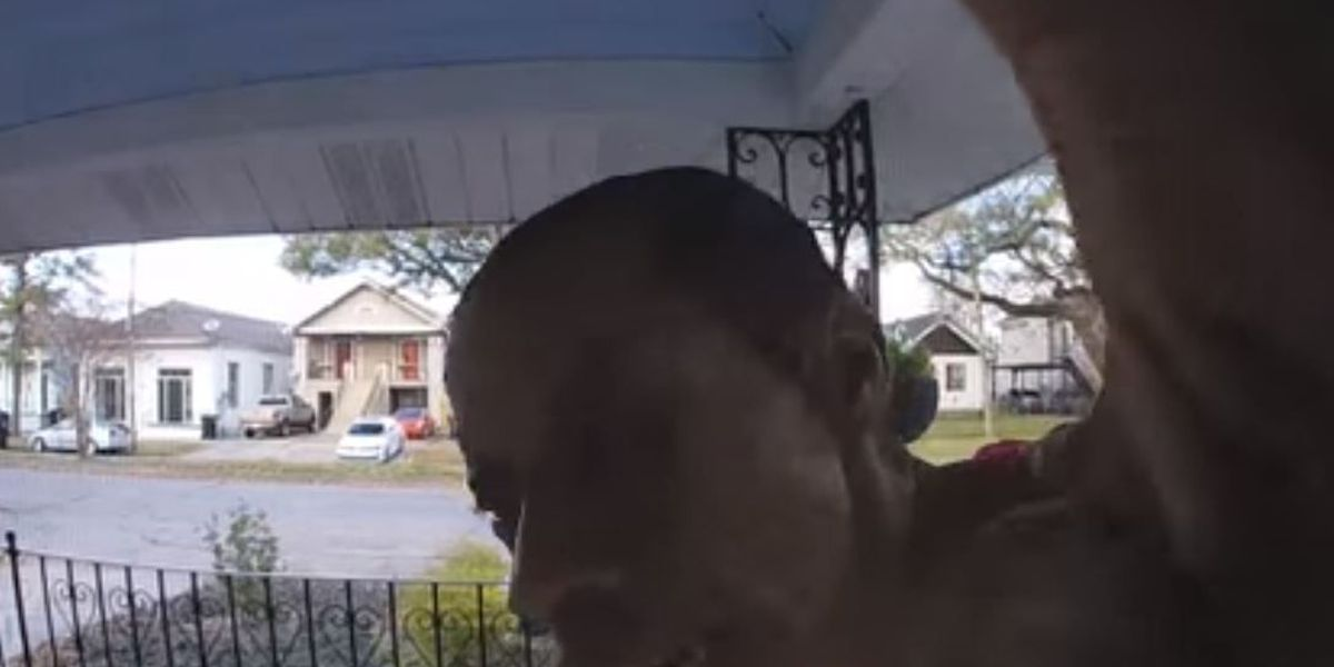 WATCH: Video shows woman open package on porch, steals contents