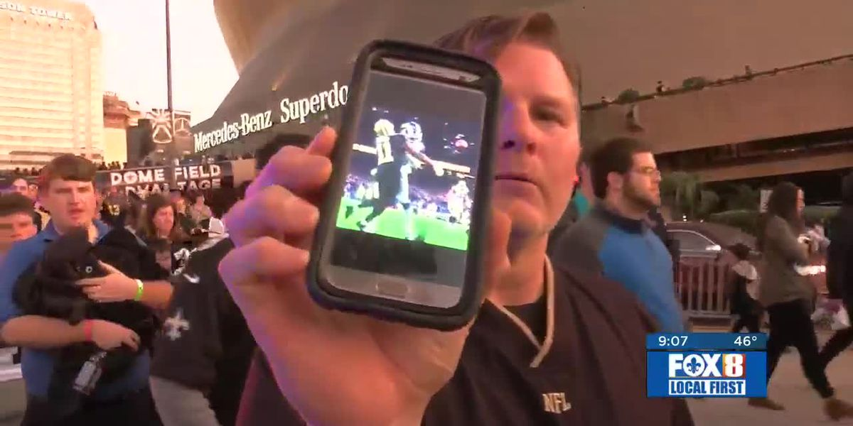 Saints fans sour after snuffed Super Bowl bid