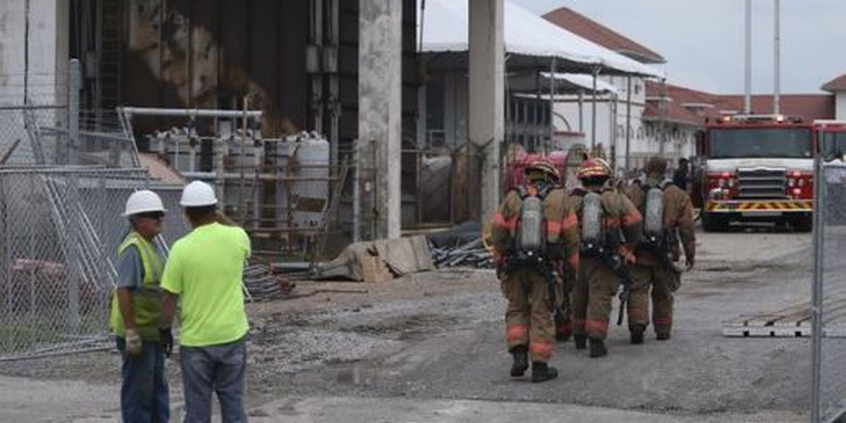 Circuit board flare up causes fire in Sewerage and Water Board facility turbine room