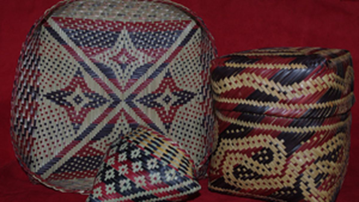 Heart of Louisiana: Chitimacha baskets