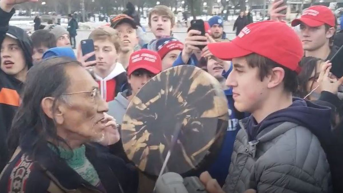 Collection: Videos of incident involving CovCath students at D.C. march