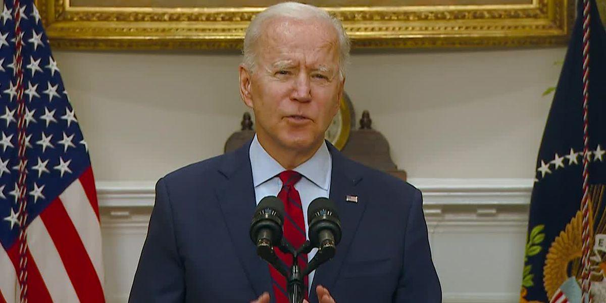 Biden urges Senate Dems to rally behind $1.9T virus relief, stimulus checks bill