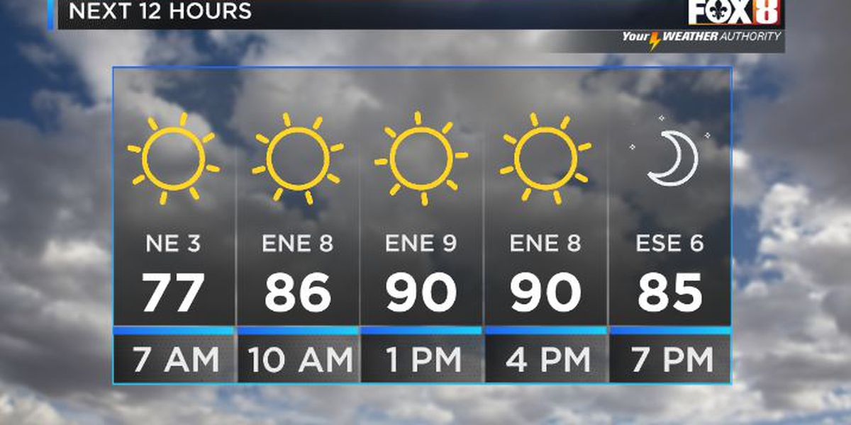 Shelby: Hot but Not-So-Humid for Labor Day