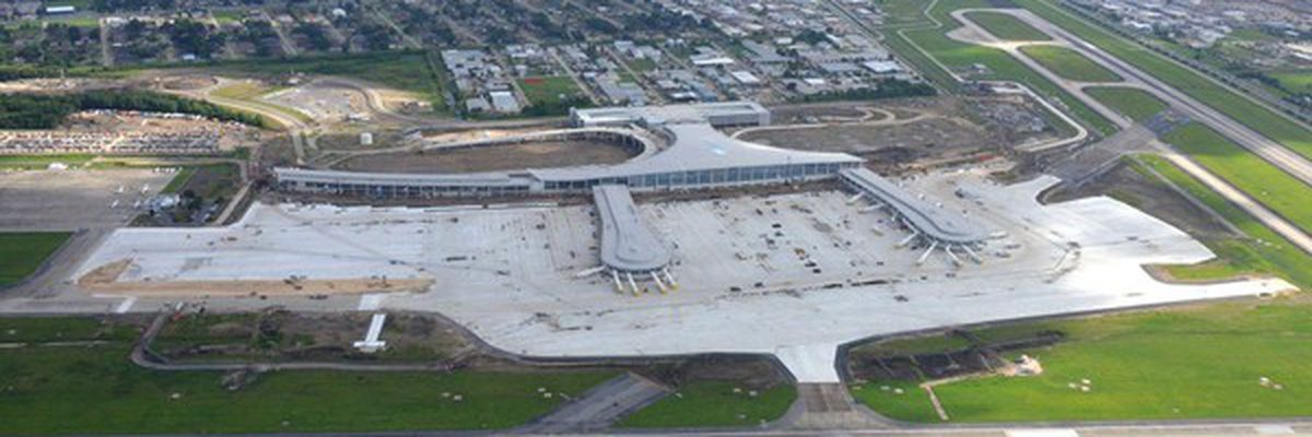 Report: New airport terminal opening delayed until May