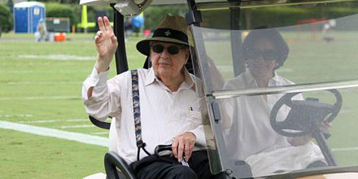 Tom Benson hospitalized for precautionary reasons