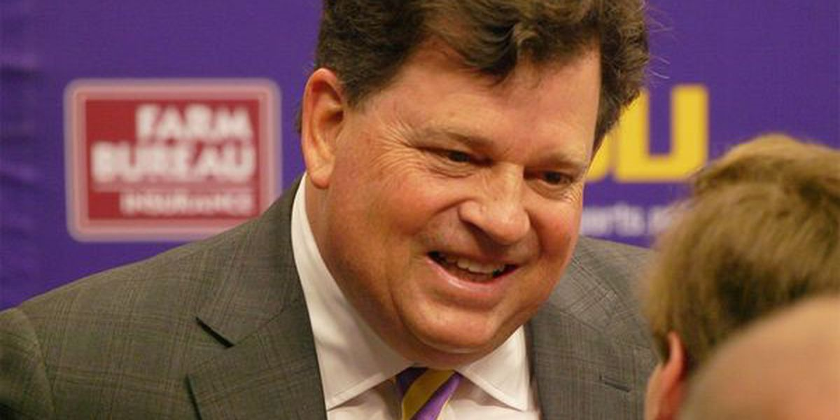 LSU AD Scott Woodward signs six-year contract averaging over a $1 million per year