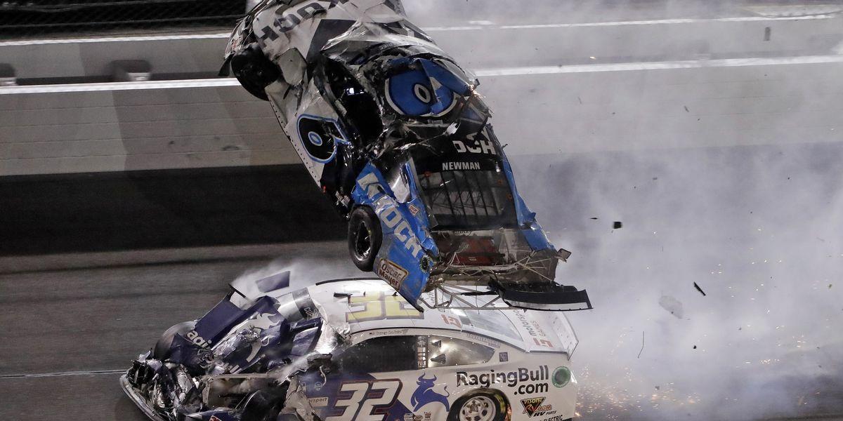 Hamlin wins 3rd Daytona 500; Newman hospitalized 'in serious condition'