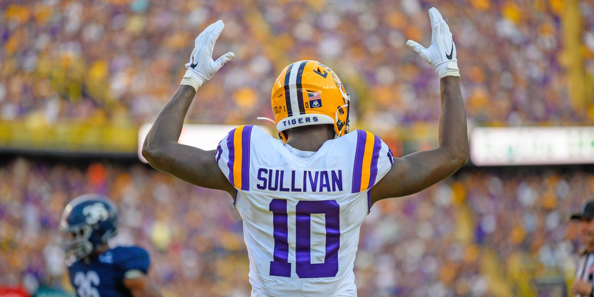 Former LSU TE Stephen Sullivan signs with Carolina Panthers