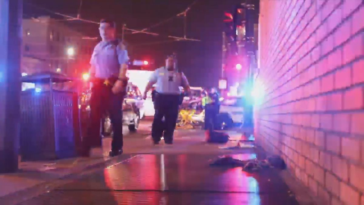 Videographer's footage shows aftermath of Canal Street shootout