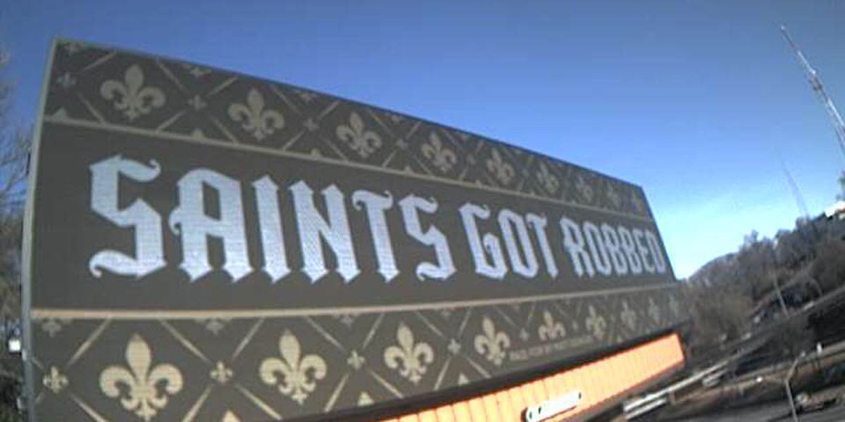 Saints fans finding creative ways to vent their frustration