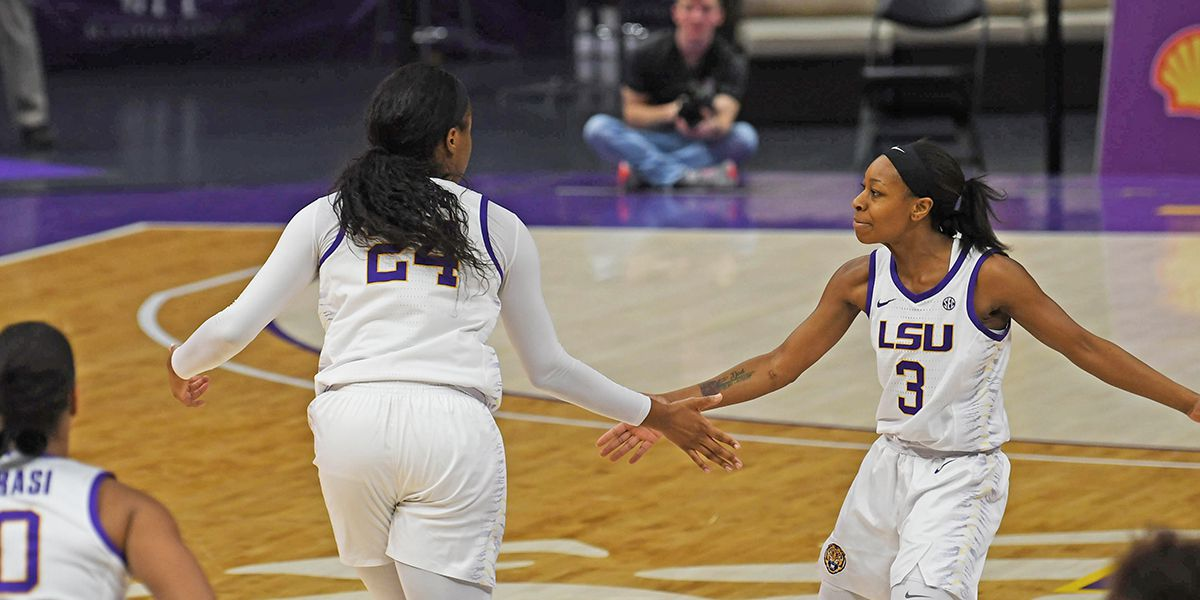 LSU women's basketball defeats Tennessee