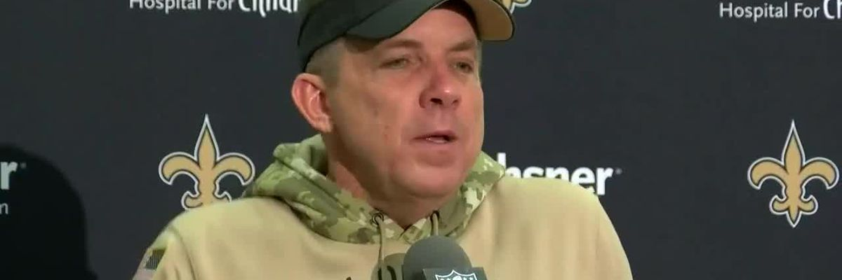 Coach Payton news conference after loss to Falcons