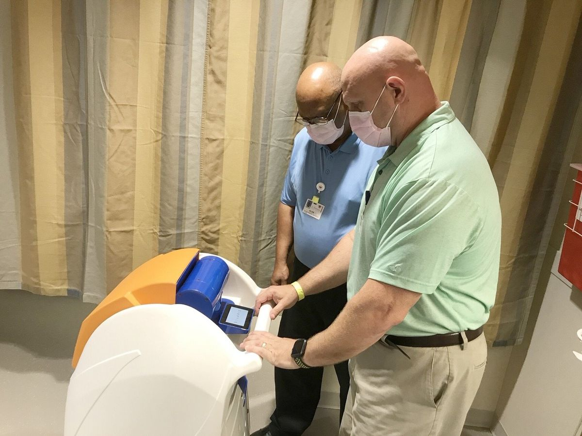 St. Tammany Hospital foundation purchases two robots to help with COVID-19 prevention