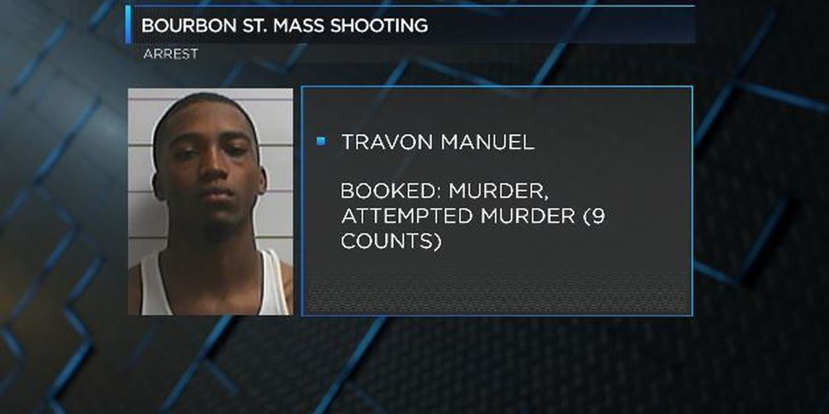 Bourbon St. mass shooting suspect moved to N.O.