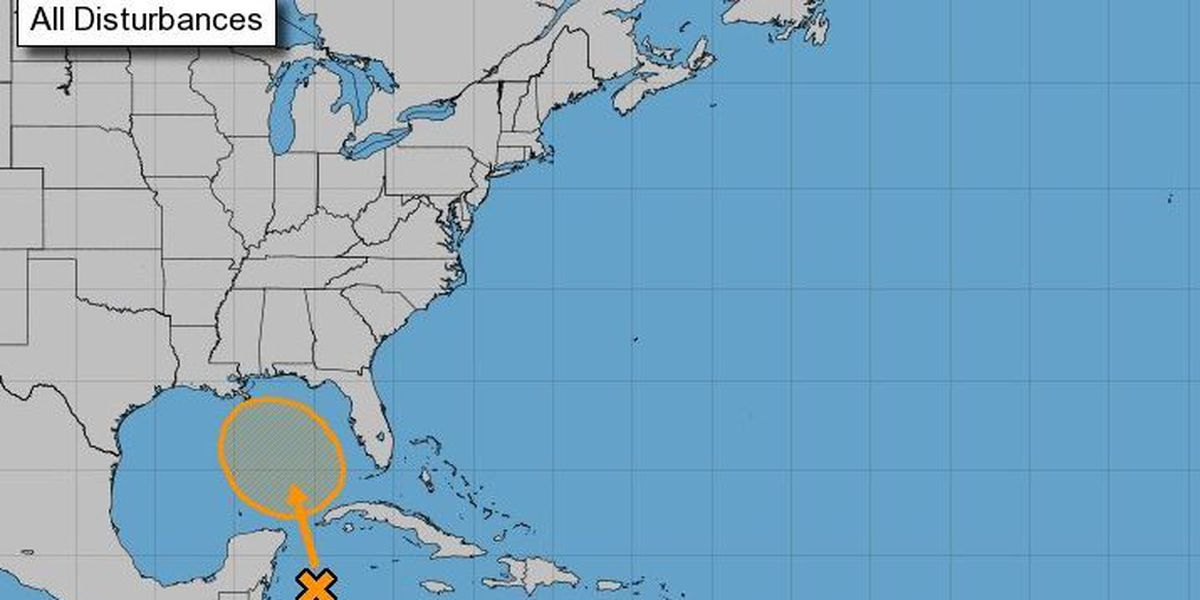 40 percent chance of development in Gulf disturbance