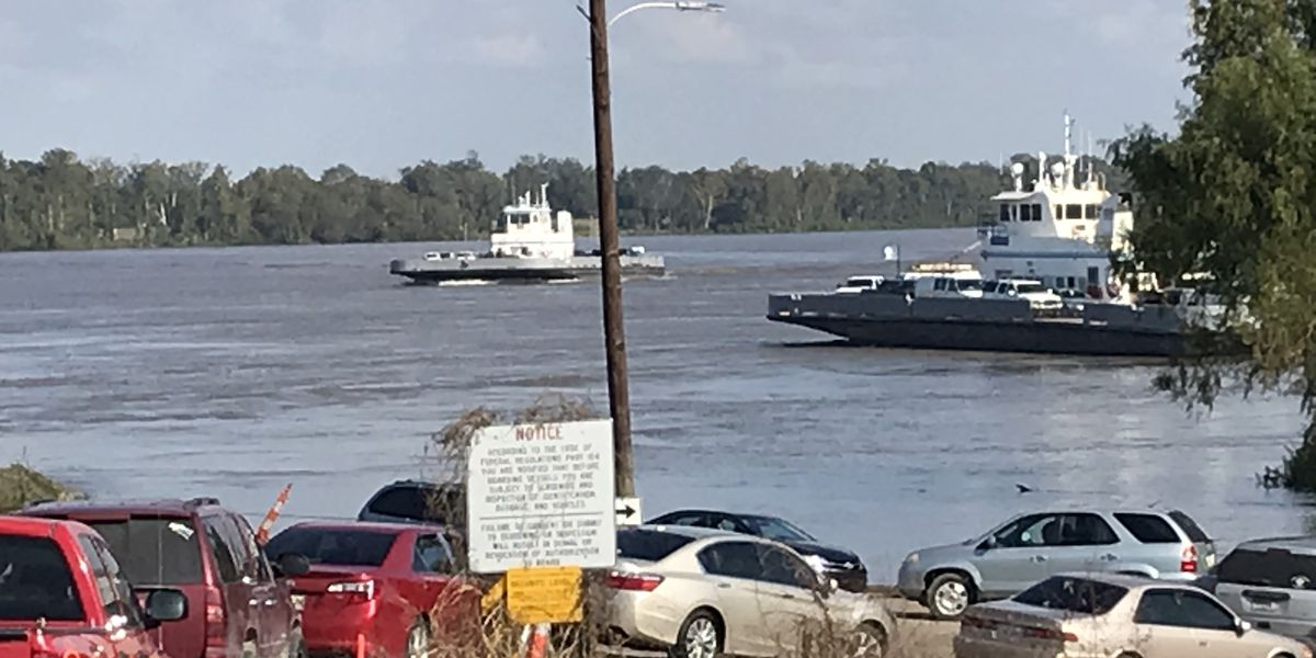Plaquemine ferry resuming normal service hours