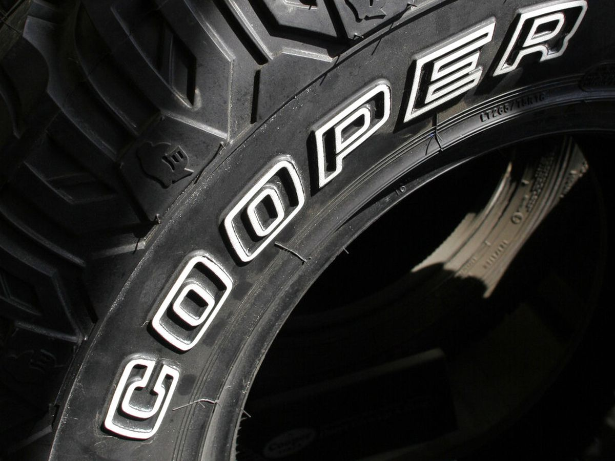 Cooper recalls 430K light truck tires due to sidewall bulges