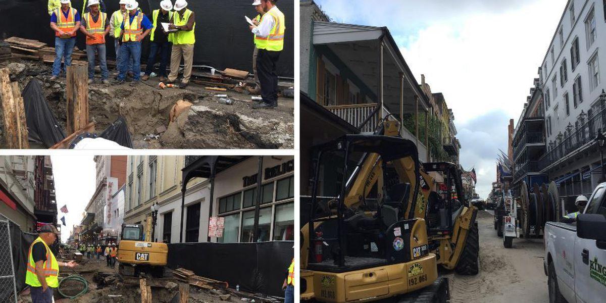 Tourism leaders: Bourbon St. is open during construction