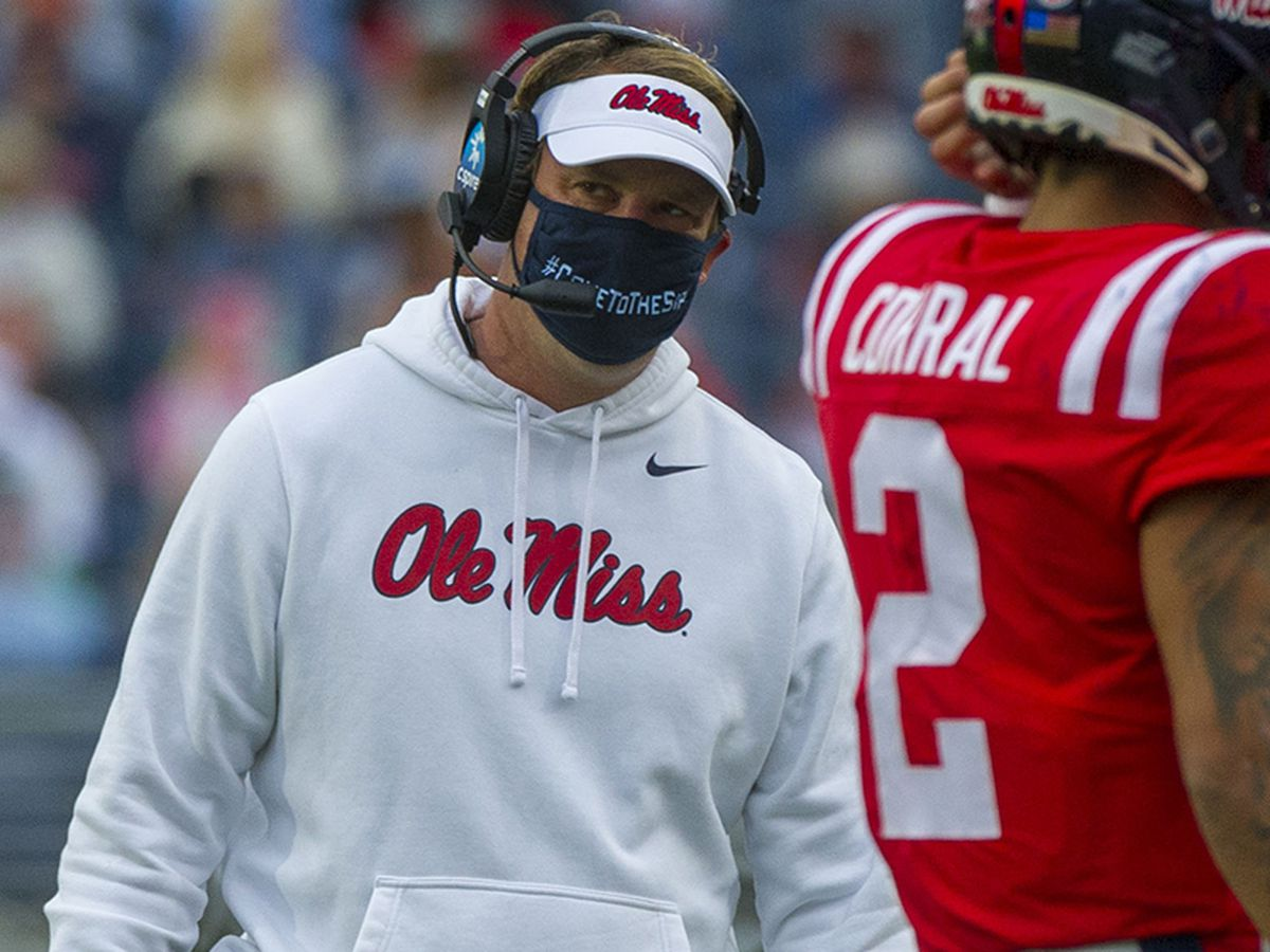 SEC says kickoff in Auburn-Ole Miss game should have been reviewed; fines Ole Miss head coach Lane Kiffin