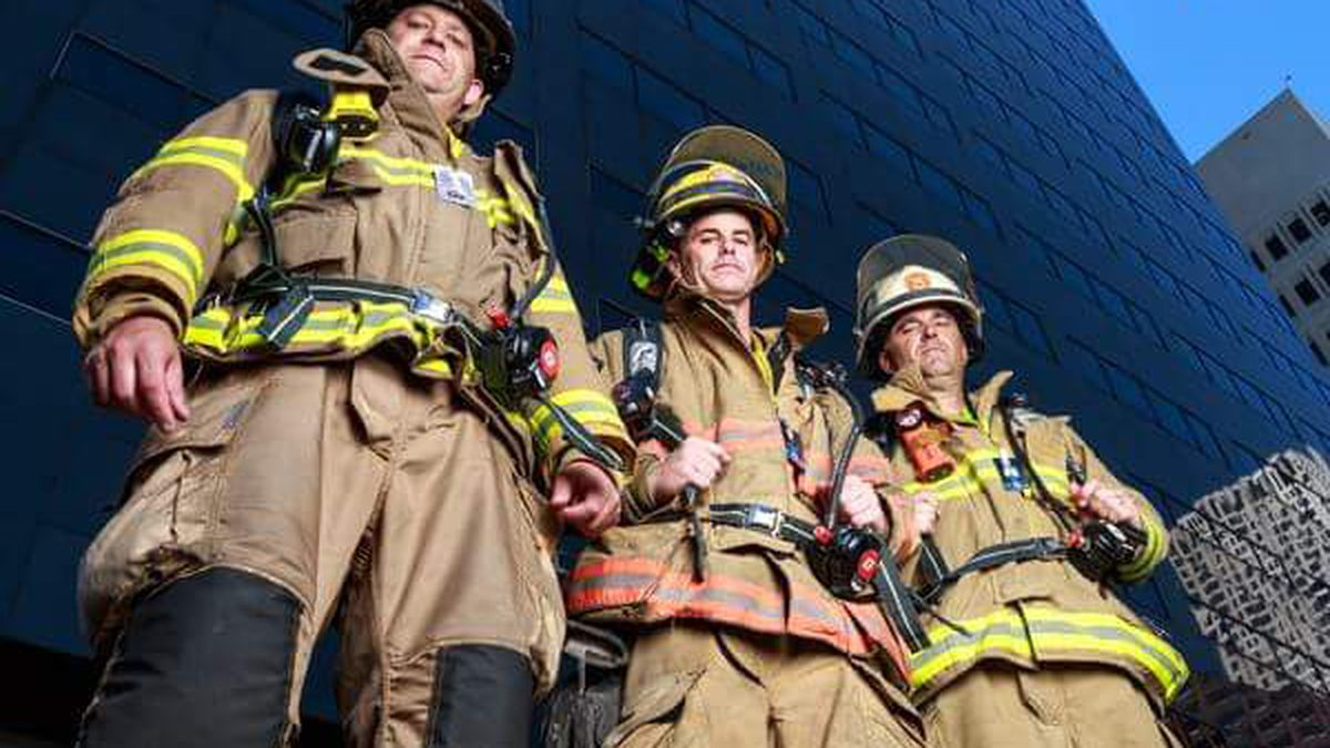 A climb to remember: Firefighters sacrifice sweat to honor those who paid ultimate sacrifice