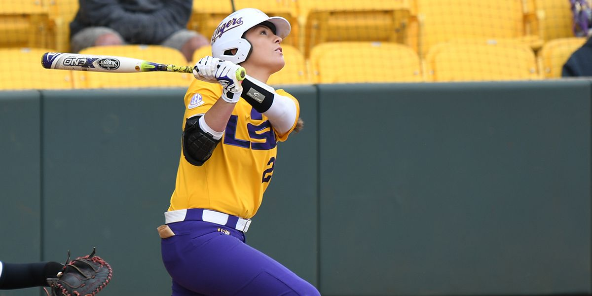 LSU softball drops slightly in polls