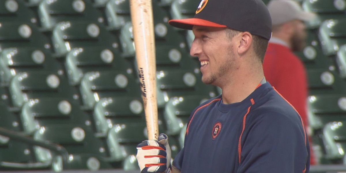 Alex Bregman growing up quickly in Houston