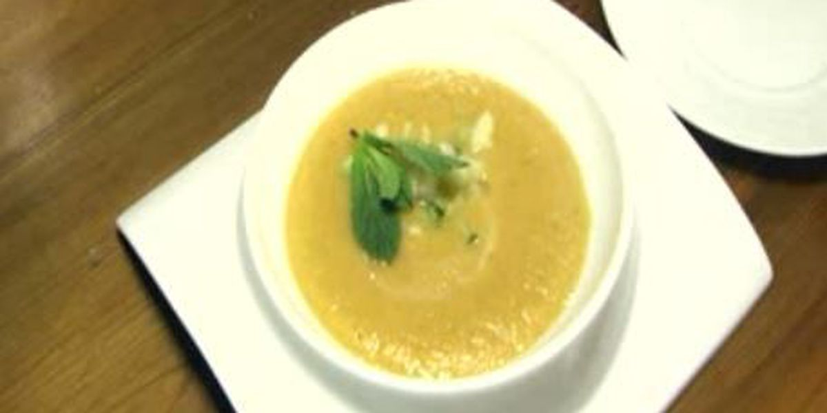 Chef John Folse: Cold melon & mint soup