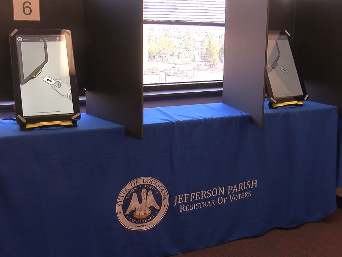 Changes in Jefferson Parish polling locations prompt concern for voter turnout