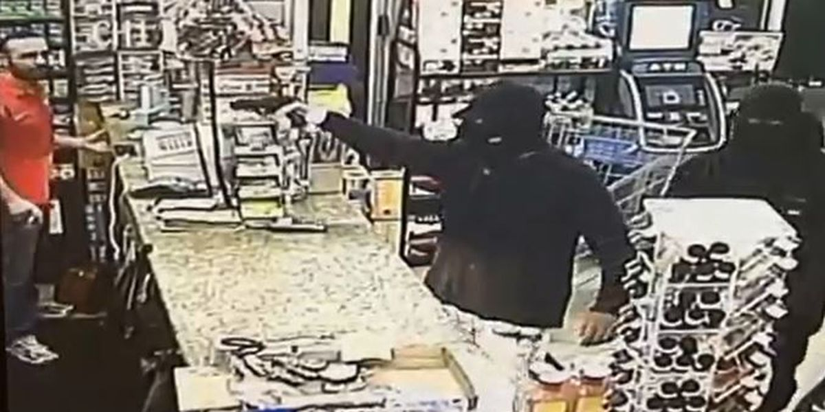 Terrifying video shows armed robbery at St. Claude business