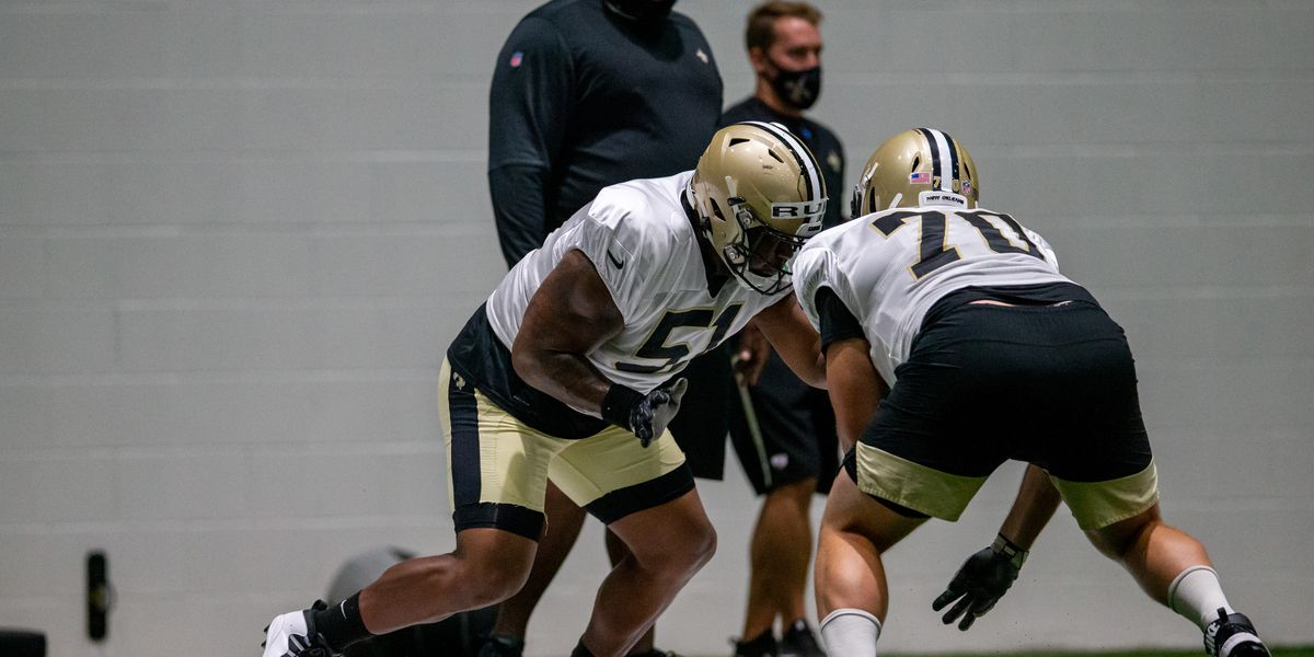 Saints Monday practice report: Ruiz finally works with Brees playing center