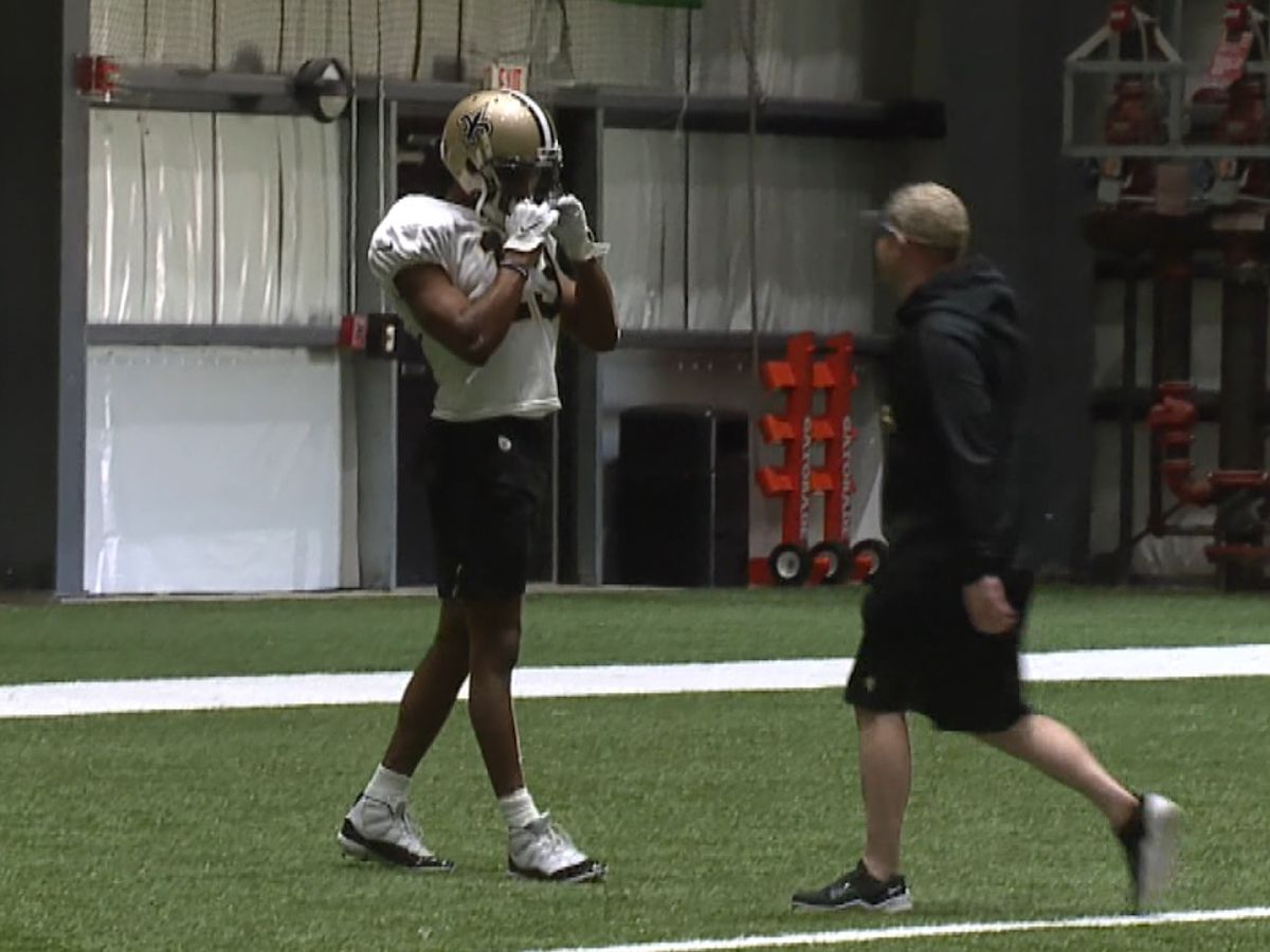 Michael Thomas will miss Sunday's game with a hamstring injury