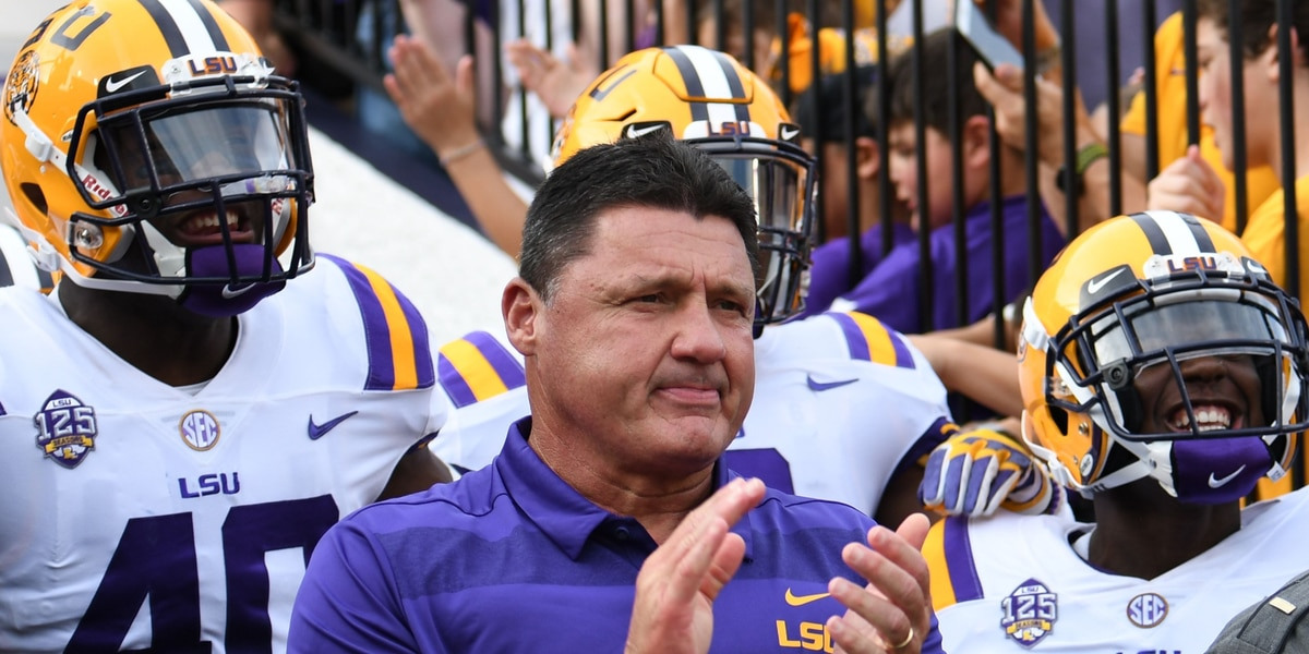Garland Gillen AP poll: LSU holds at six, Kentucky moves into the top 20