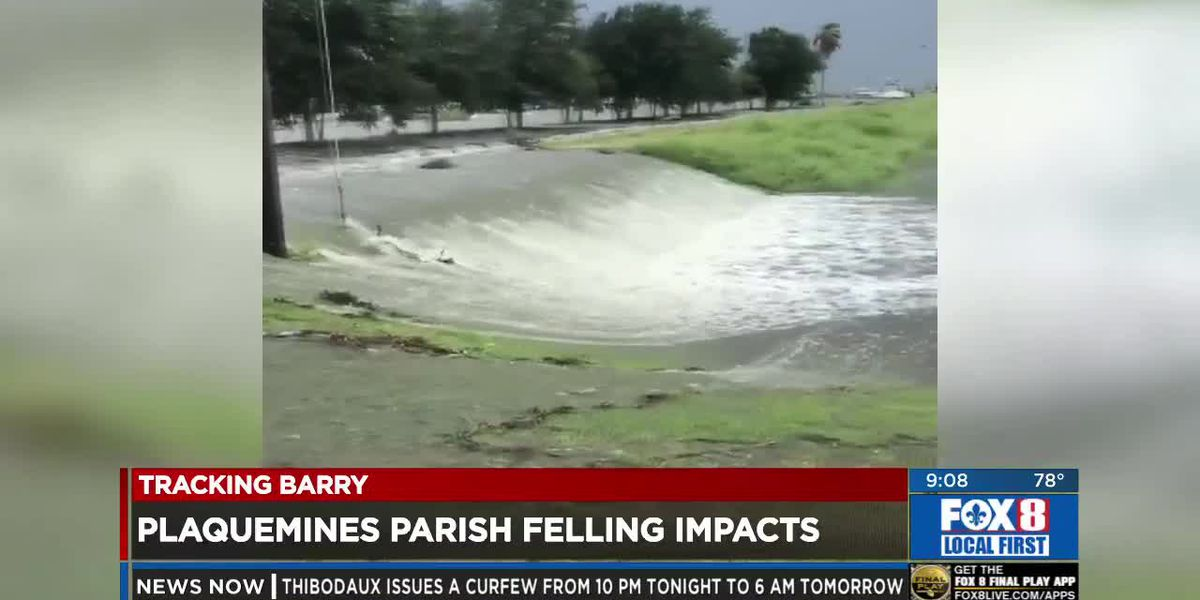 Plaquemines evacuation lifted, but parish still feeling impacts