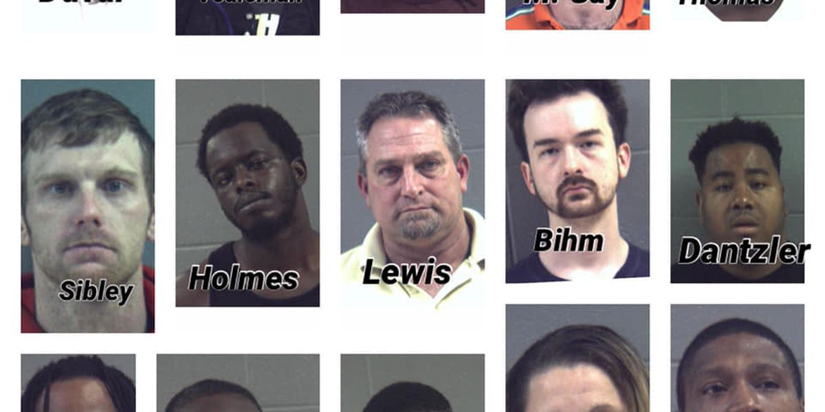 22 arrested in Livingston Parish as part 'Operation Naughty List' drug sting