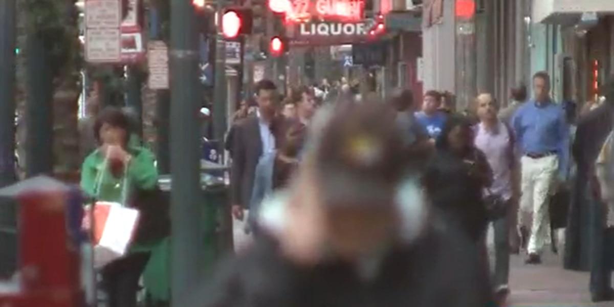 People taking the streets of New Orleans despite coronavirus warnings