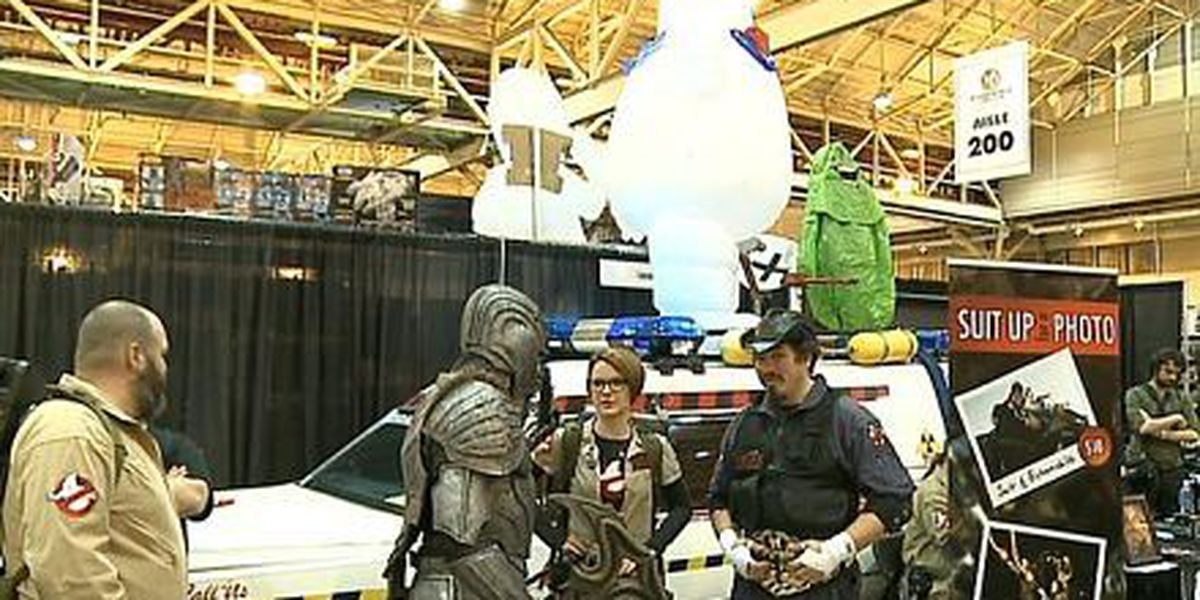 Fan charities use Comic Con to help fight real villains
