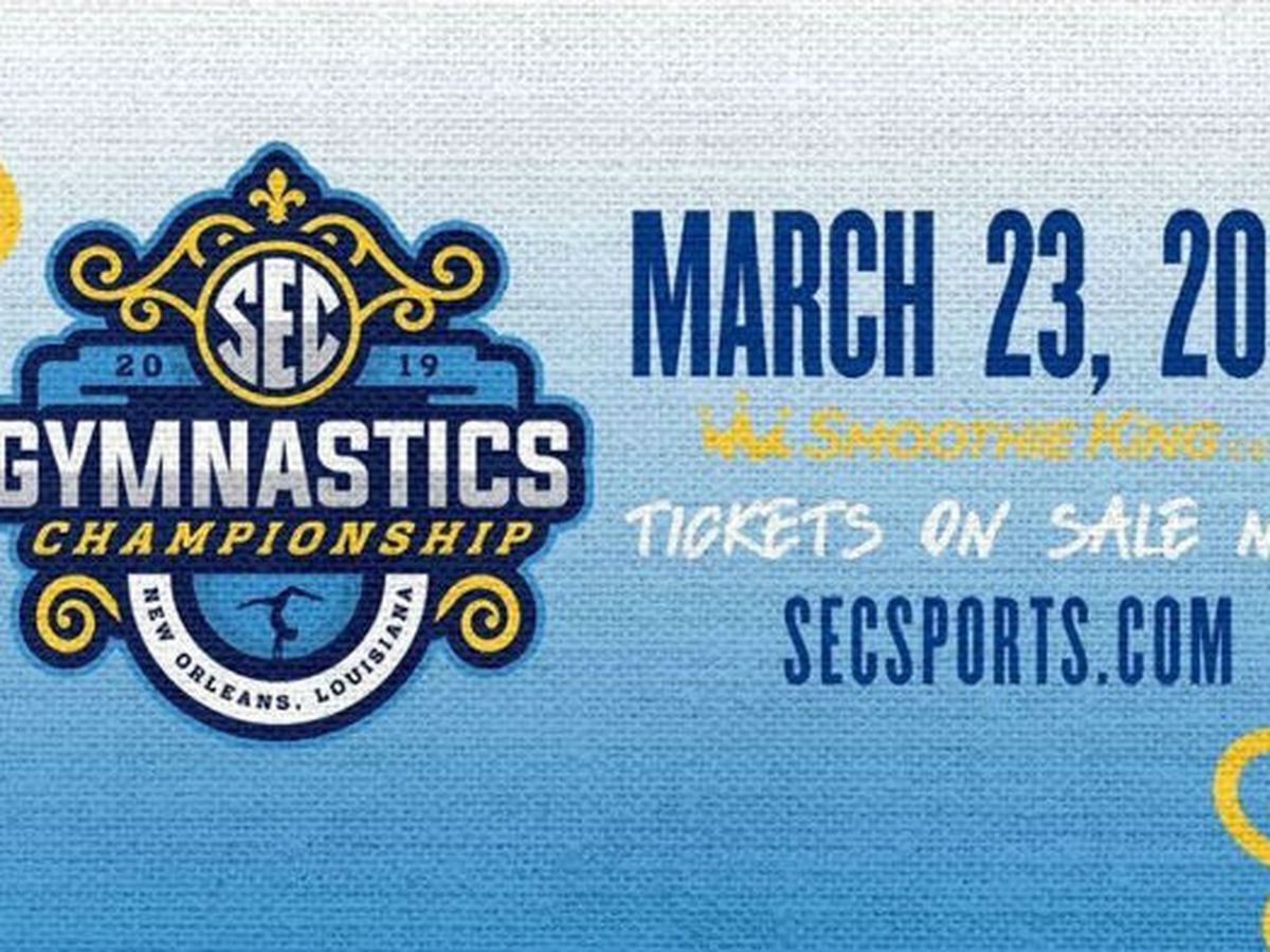 SEC Gymnastics Championship expected to set new record for event