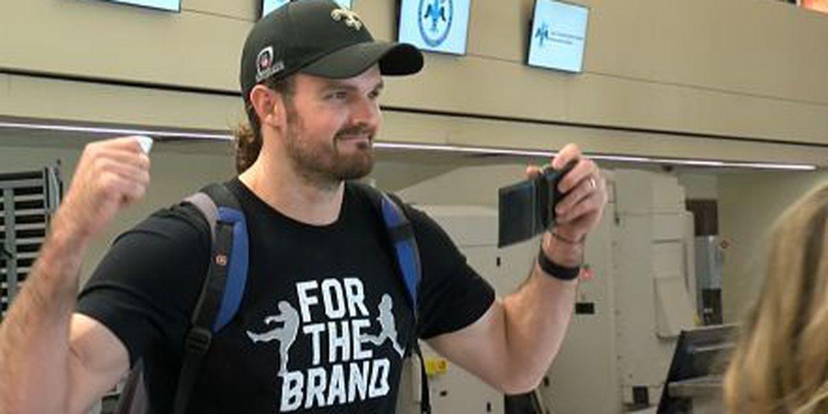 Thomas Morstead arrives in Minnesota ready to spread goodwill