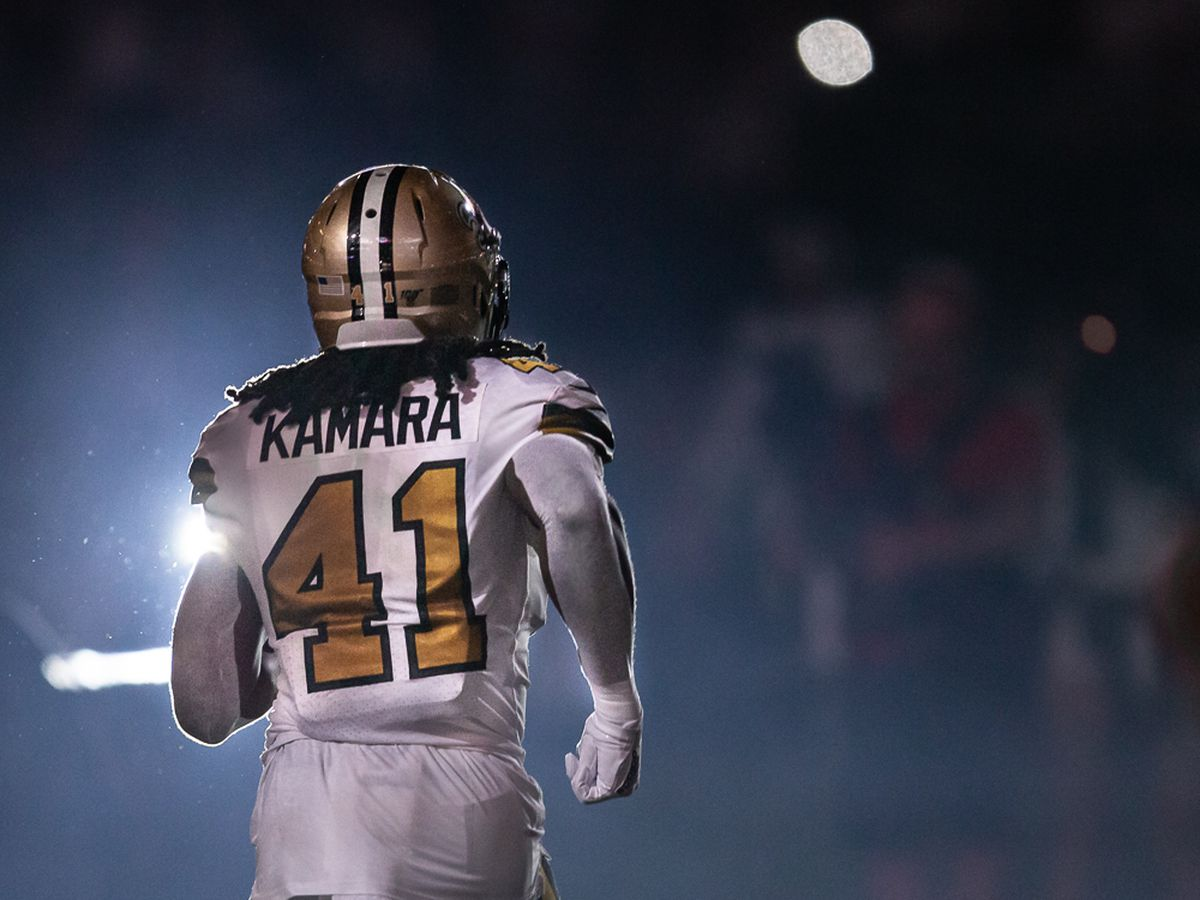 Ranking the Saints: #6 Alvin Kamara