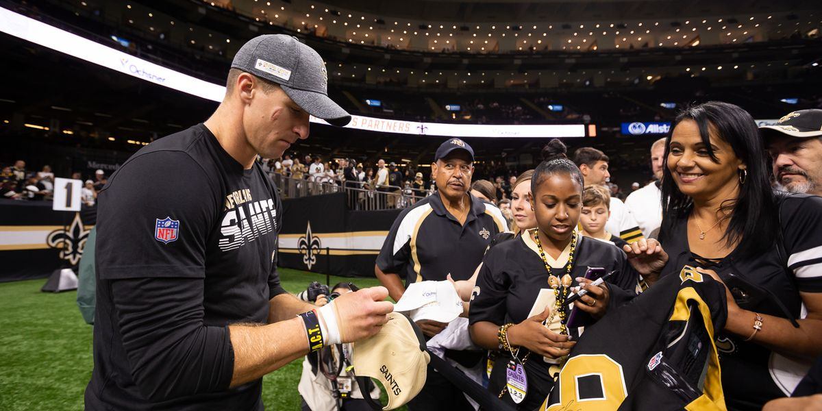 "Deuce McAllister on Brees' return: ""This is about being one of the elite teams"""