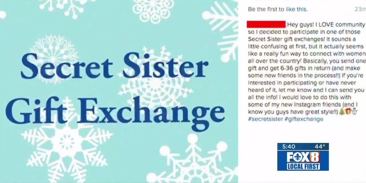 Secret Sister gift exchange scam