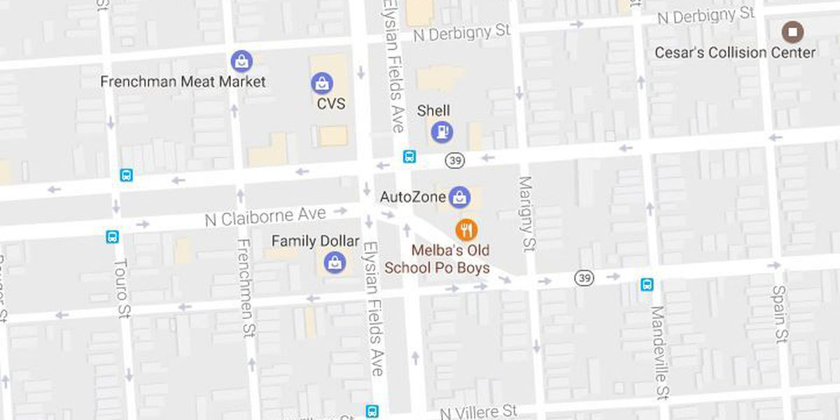 NOPD: Man shot near North Claiborne and Elysian Fields